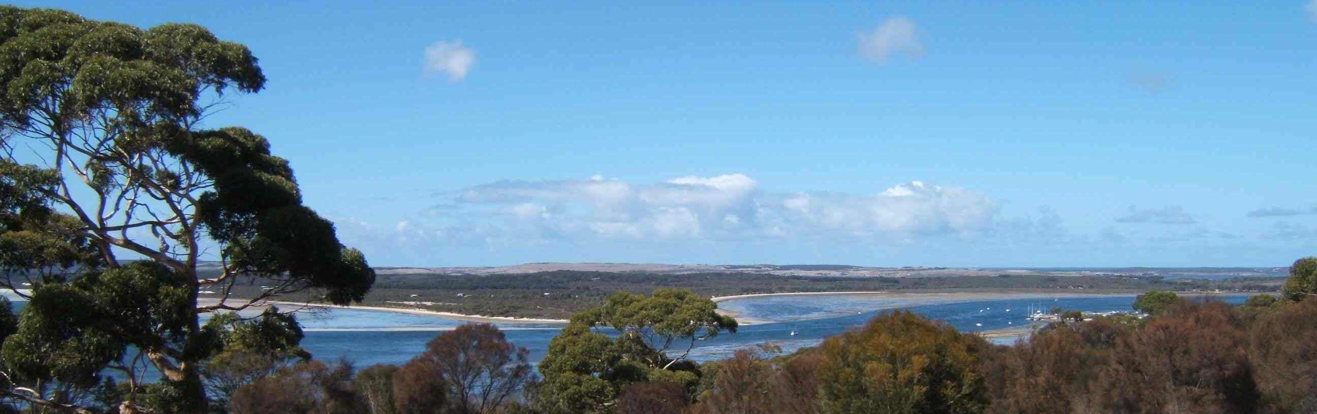view from À bientôt Seayu Lodge, Kangaroo Island